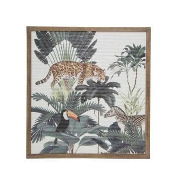 Jungle Scene Framed Print