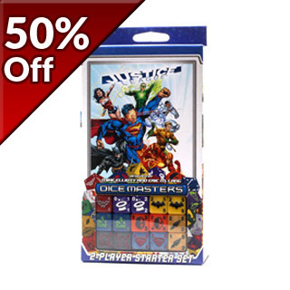 Justice League Dice Masters - Two Player Starter Set