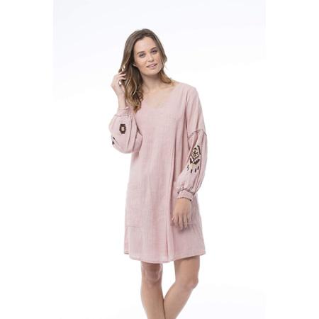 KAJA HEIDI DRESS ROSE XS