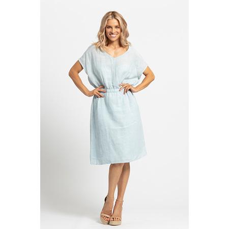 KAJA JILLY DRESS LIGHT BLUE ASTD