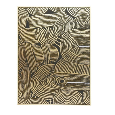 Kamunda Canvas Print W Foil - Gold Frame/100x140cm