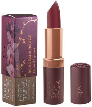 Karen Murrell Bordeaux Rouge Natural Lipstick
