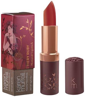 Karen Murrell Fiery Ruby Natural Lipstick