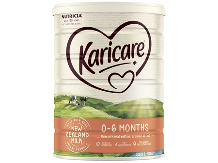 Karicare 1 Baby Infant Formula From Birth to 6 Months 900g