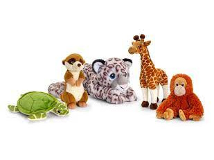 Keel Eco Soft toys