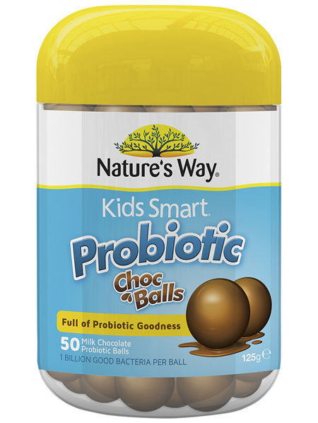 KIDS SMART PROBIOTIC CHOCOLATE BALLS 50s