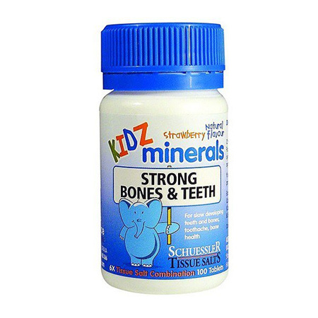 KIDZ MINERALS Bones & Teeth 100tabs