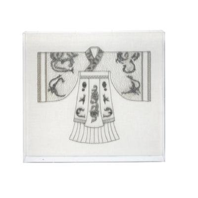 Kimono Art - Perspex Frame