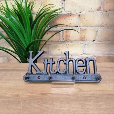 'Kitchen' Key Hanger - Cast Iron