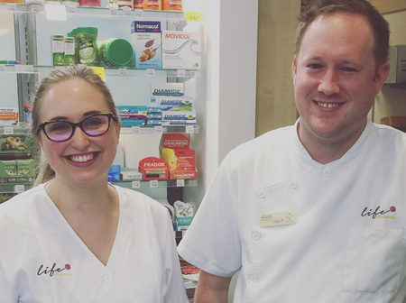 Kitty and Al - Dispensary Managers