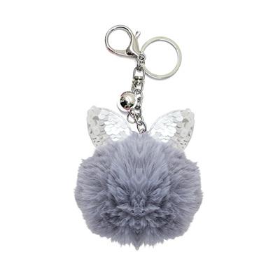Kitty Keyring - Grey