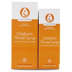 KIWI HERB Child Throat Syrup + Herbal Throat Spray
