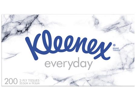 Kleenex Everyday Facial Tissues 200 Pack