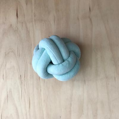 Knot Cushion - Mint