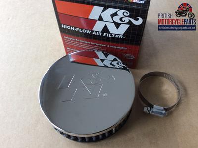 KNRC0330 K&N Pancake Air Filter - Offset Mount