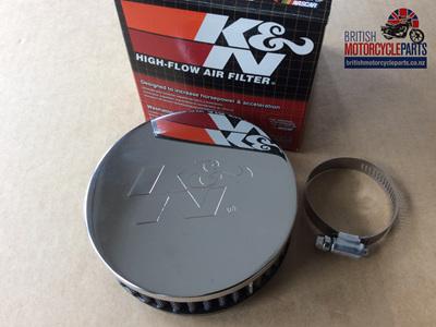 KNRC0340 K&N Pancake Air Filter - Central Mount
