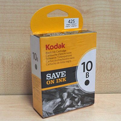 KODAK 10 SERIES BLACK INK