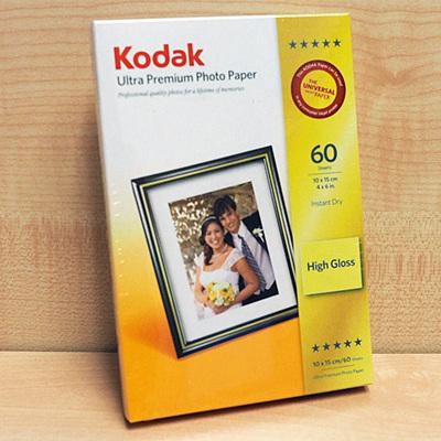 KODAK 4X6(60) 280G ULTRA PREM PHOTO PAPER