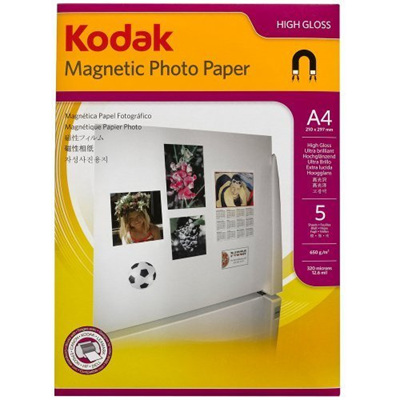 KODAK MAGNETIC PHOTO PAPER A4 5SH 650GSM