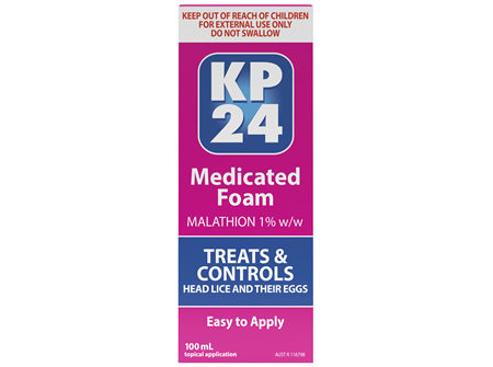 KP24 Medicated Foam 100mL