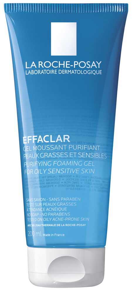 La Roche Posay® Effaclar Purifying Foaming Gel Anti-Acne Cleanser 200mL