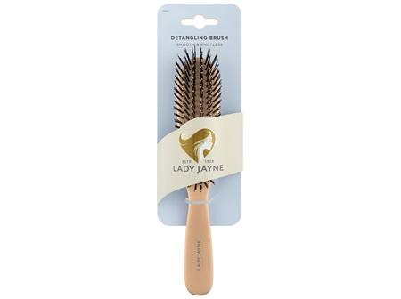 Lady Jayne Smooth & Knotless Detangling Brush Large