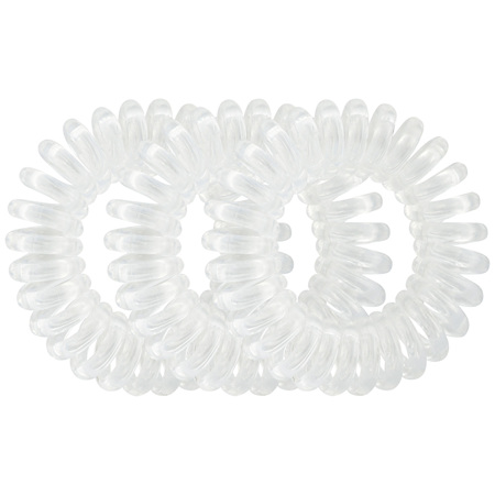 Lady Jayne Style Guards Clear Kink Free Spirals - 8 Pk