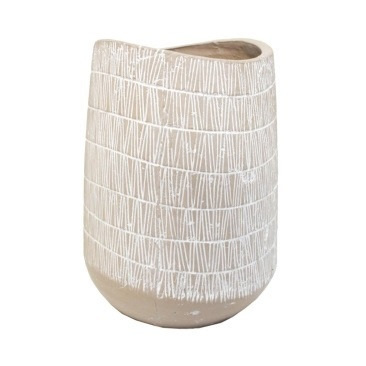 Laei Ceramic Vase - White