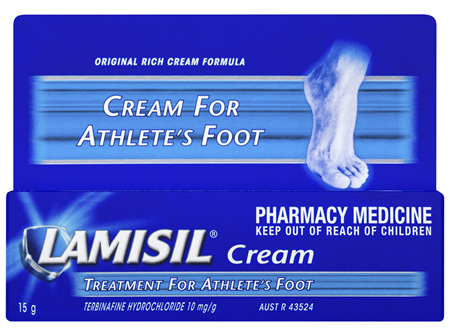 Lamisil Cream Athletes Foot 15g