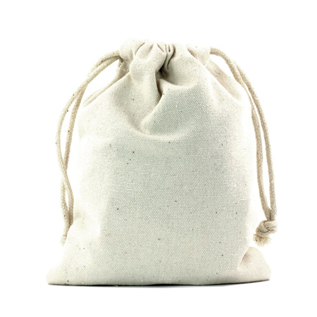 Large Canvas Drawstring Bag