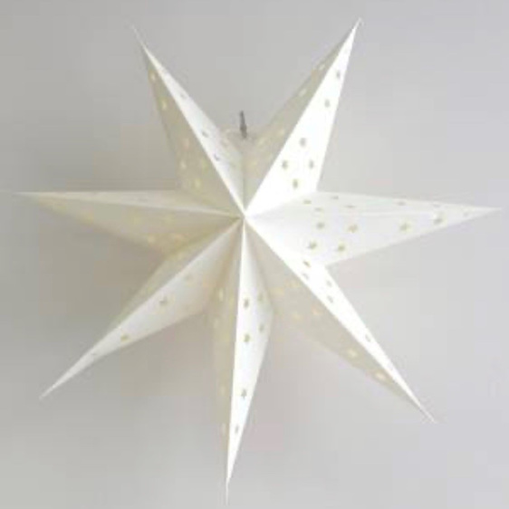 Large Paper Star White