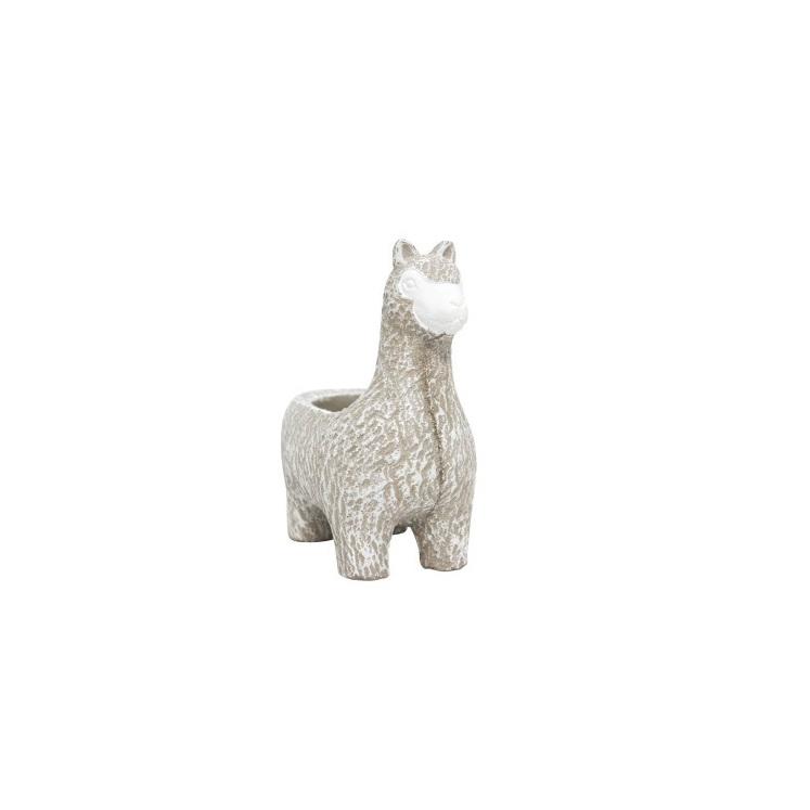 Larry Llama Planter - 16.5cmh