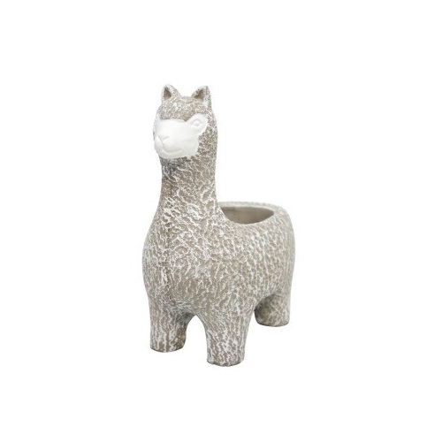 Larry Llama Planter - 22.5cmh