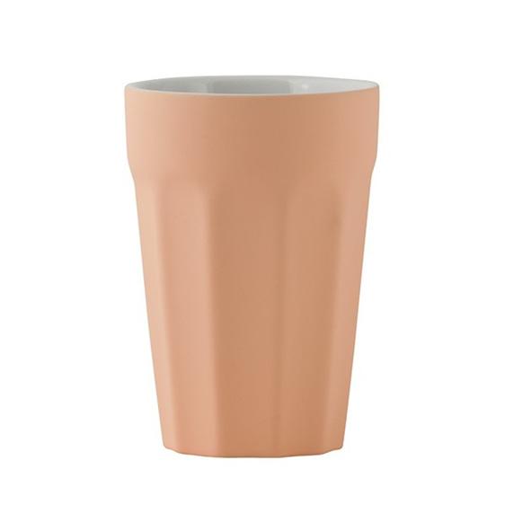 Latte Tumbler - Matte Apricot