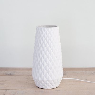 Lattice Cone Table Lamp