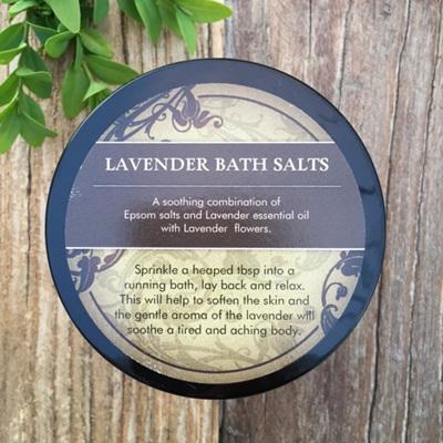 Lavender Bath Salts 400gr