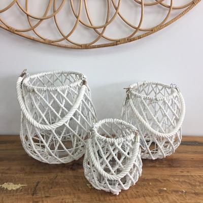 Lawan Rope Lantern - White