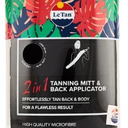 LE TAN 2in1 Back Application Mitt