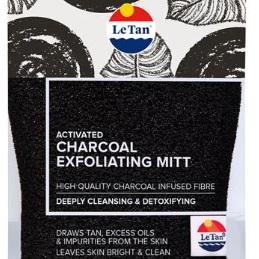 LE TAN Charcoal Exfoliating Mitt