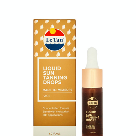 LE TAN Self Tanning Drops 12.5ml
