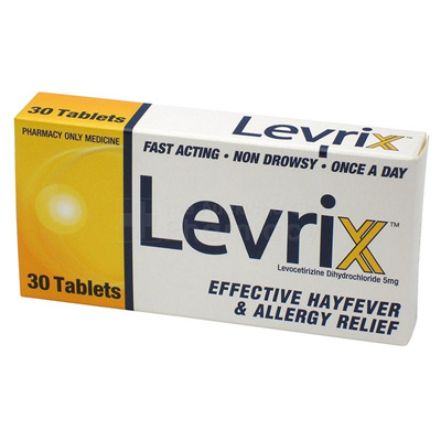 Levrix 5mg - 30 tablets
