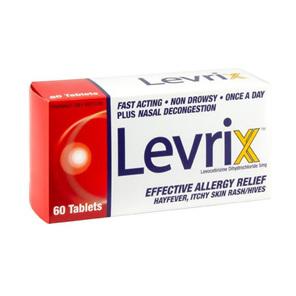 Levrix 5mg Tablets 60