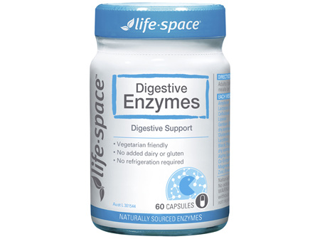 Life-Space Digestive Enzymes 60 Hard Capsules
