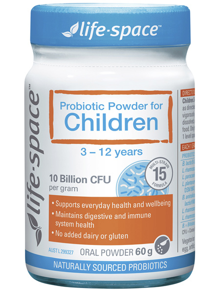 Life-Space Probiotic Powder for Children 3-12 Years Oral Powder 60g