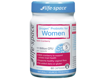 Life-Space Urogen Probiotic for Women with Cranberry 60 Capsules