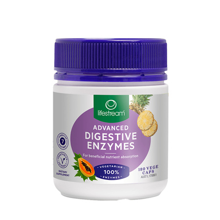 LIFESTREAM Advanced Digestive Enzymes 60caps