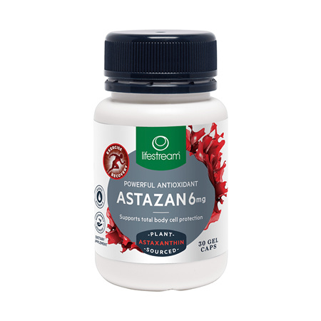 LIFESTREAM Astazan 6mg 30caps