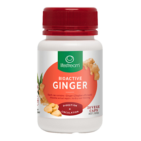 LIFESTREAM Bioactive Ginger 30caps