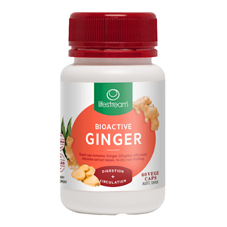 LIFESTREAM Bioactive Ginger 60caps