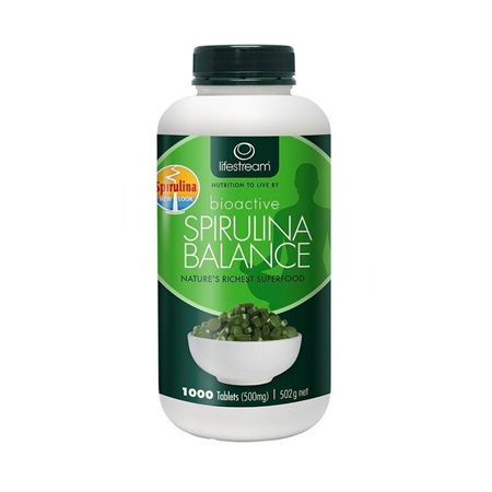 LIFESTREAM Bioactive Spirulina Balance 500mg 1000tb